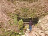 Вход в п.Красноалександровская или пещера Ведьм