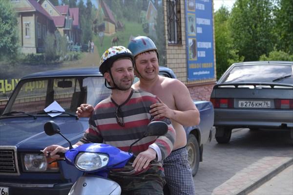 Местные байкеры