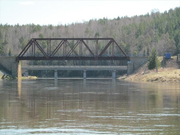 За мостом конец похода
