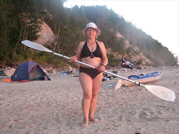 Матроска с веслом