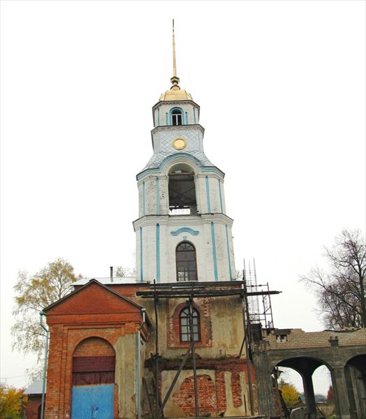 Храм Благовещения Пресвятой Богородицы современный вид