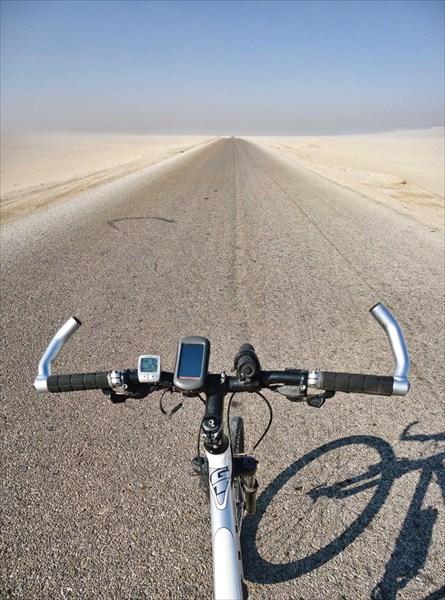 Сворачиваю в пустыню Сахара