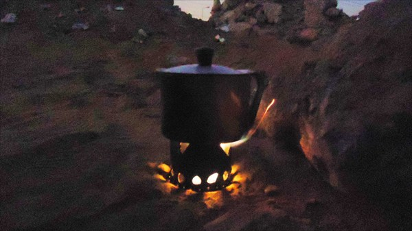 Палатка в 5 км от пирамид Гизы