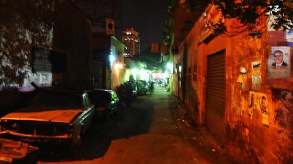 Улочка в Каире