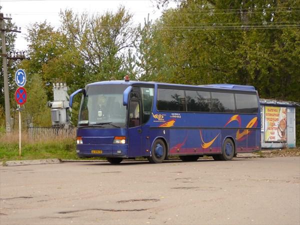 Рейсовый автобус Великий Новгород - Старая Русса