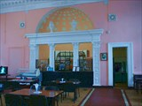 Столовая внутри вокзала