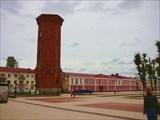 Бывшая водонапорная башня на Соборной площади