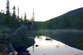 озеро в долине Малой белой