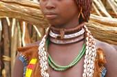 Девушка племени Хамер (третья жена)