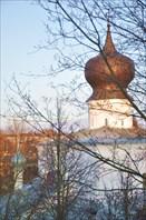 Псков - вид из гостиницы Ольгинская 2