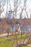 Псков - вид из гостиницы Ольгинская 4