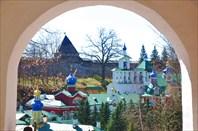 Порхов-Псков-Печоры на машине с семьей. Автор: Ольга Макарова