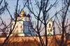 на фото: Псков - вид из гостиницы Ольгинская 1