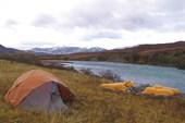 Лагерь в верховьях Литанга