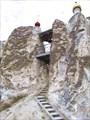 Храм выдолблен прямо в меловом холме