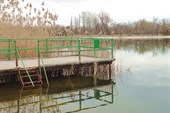 Пирс на Рапном озере