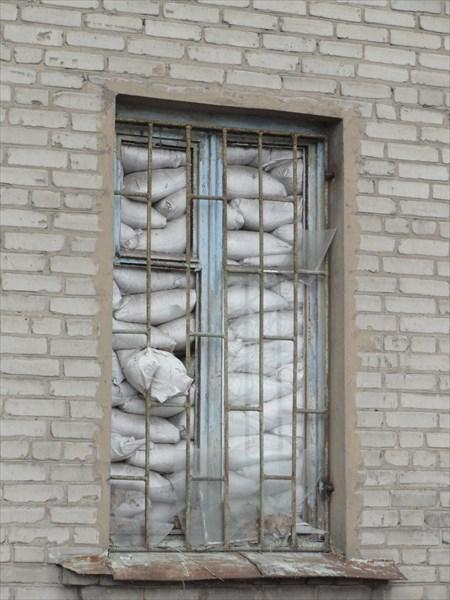 Следы войны в Славянске
