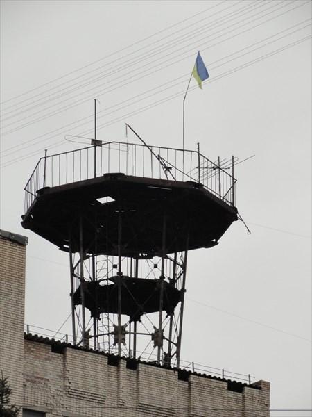 """Башня на здании """"Укртелекома"""""""
