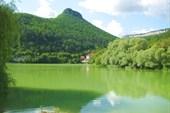 Озеро по дороге на Ослиную ферму