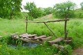 У Валентиновского водопада в г. Ровеньки.