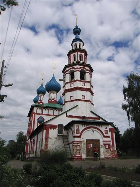 на фото: Церковь Корсунской иконы Божьей матери