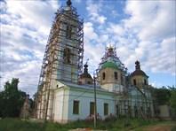 Храм Вознесения в с.Охотино
