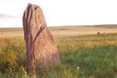 Северная Хакасия `Каменные ограды`