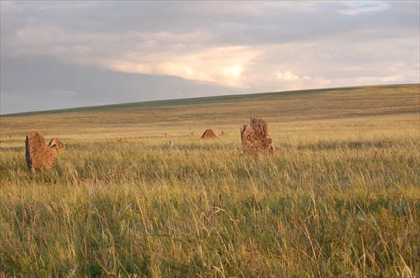 """Северная Хакасия """"Каменные ограды и курганы"""""""