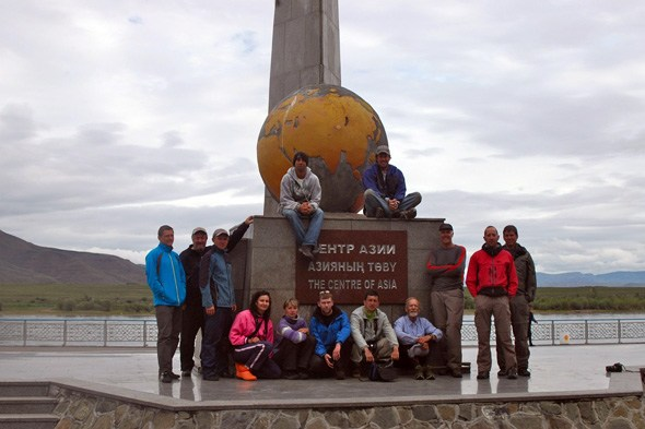 Kyzyl-Monument