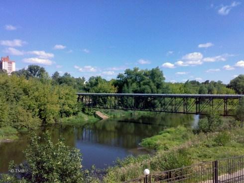 Вид на речку Уводь в Иваново. 24-08-11
