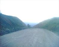 дорога с вершины