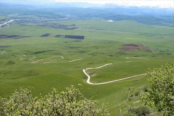 Позади подъем на перевал Бандитский