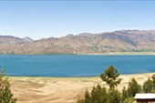 panorama. Ashenge Lake