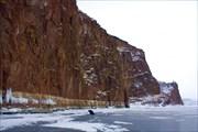 Скалы напротив устья Сидорихи