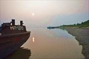 Паром перед отправлением, река Алдан
