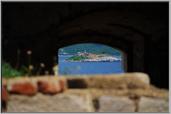 Вид с форта Остро