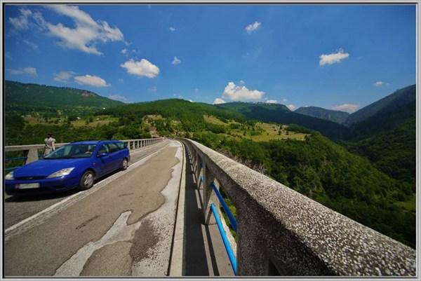Мост на  Durdevica Tari