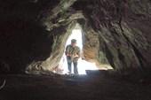 Вход в пещерку