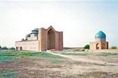 Мавзолей-ханака Ходжи Ахмеда Ясави в городе Туркестан