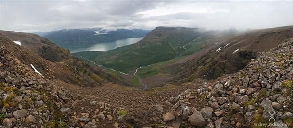 Озеро Кутарамакан. Плато Путорана.