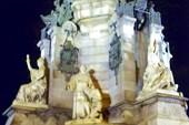 Основание статуи Колумба.