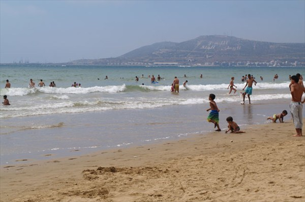 Фото 196 Агадир. пляж
