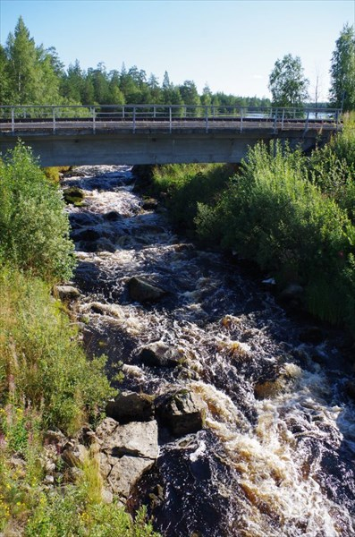 Возле впадения в Суккозеро