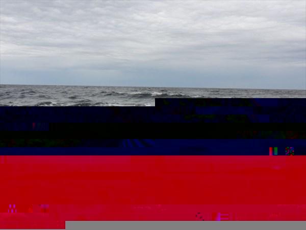Море бушует.