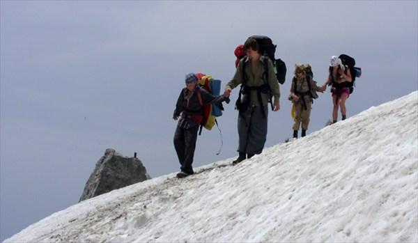 На пути к перевалу Белореченский