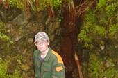 Вход в пещеру Темная, Леонид Лагунов