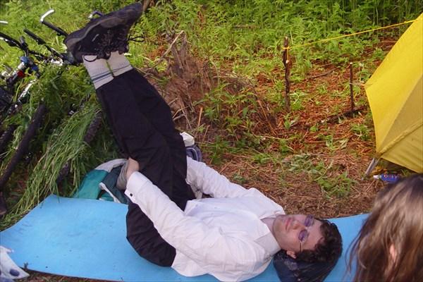 Андрей отдыхает