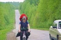 На дороге в Широковский