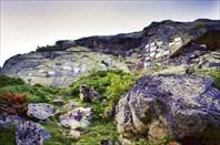 Кладбище альпинистов, ущ. Адыр-Су-республика Кабардино-Балкария