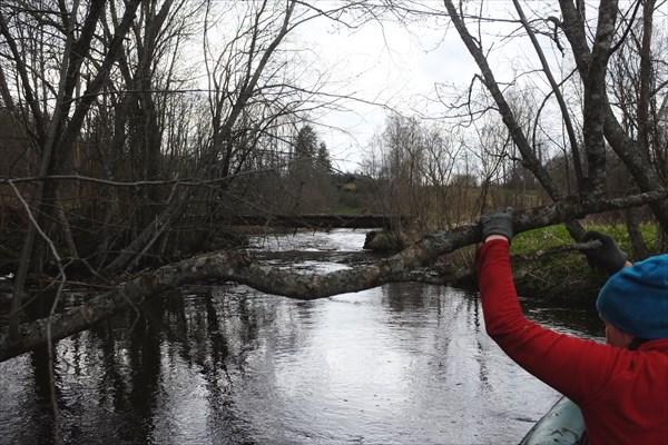 Первый мост в Ульяново